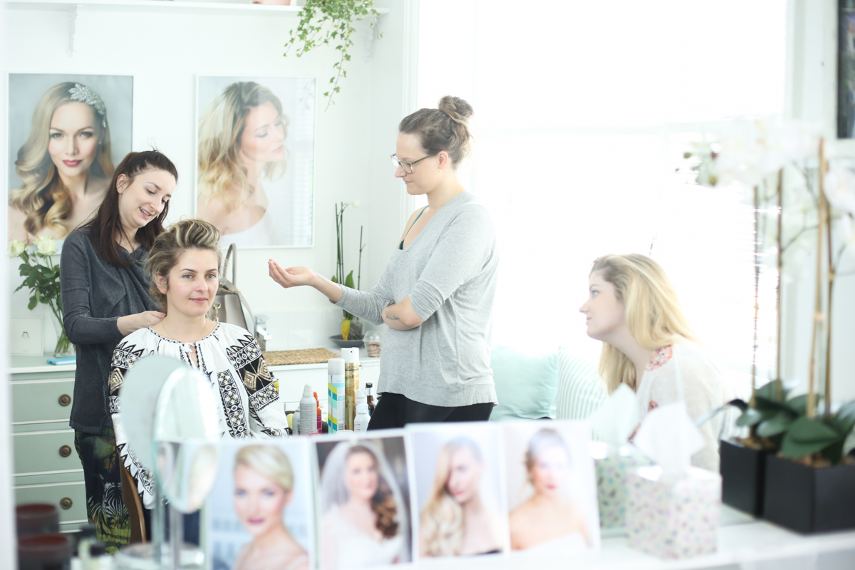 5-day bridal hairstyling course - best hair academy london ibiza